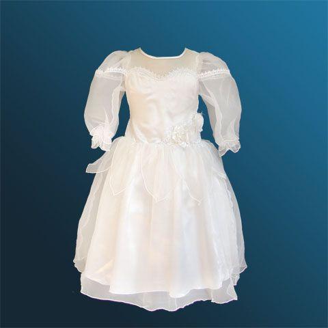 Как сшить платье с длинным рукавом своими