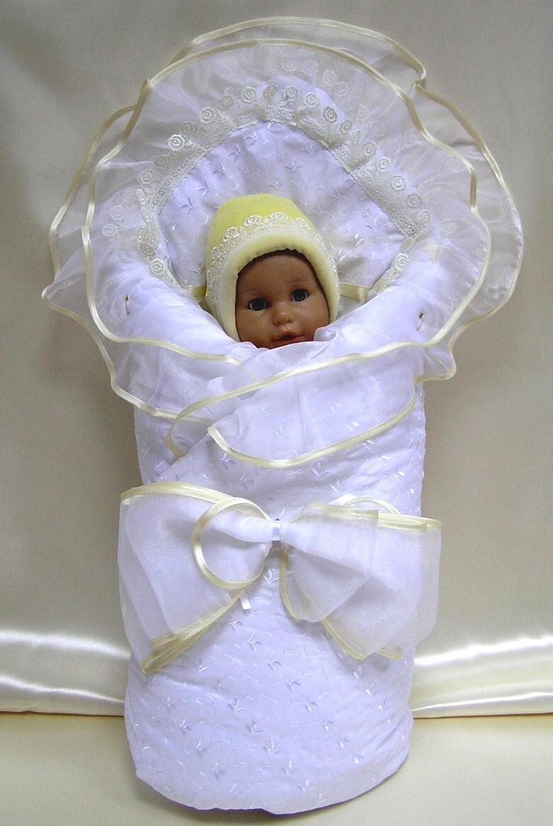 Пододеяльник для новорожденного своими руками на выписку