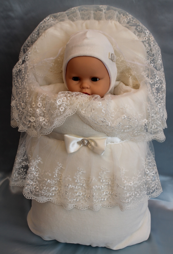 Конвертик на выписку для новорожденного