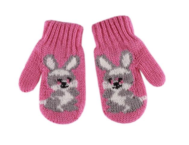 Вязание детские рукавицы